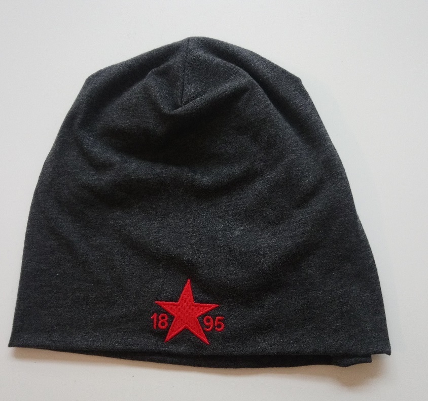 Jersey Beanie Viva Charcoal