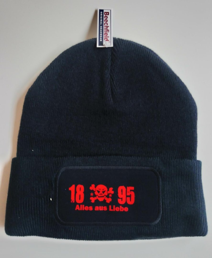 "Patch Beanie ""Skull"""